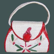 Vintage Doll Purse for Vogue Jill & other Fashion Dolls