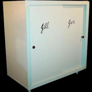 1950's Vogue Jill Jan Strombecker Wardrobe / Closet