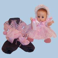 Vogue 1950's Ginnette Doll Baby: Party Dress, Bonnet, Snowsuit & more....