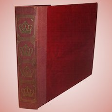 Vintage Single Sided  Victor Victrola  78 RPM Albums & Record Book