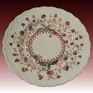 Desert Bloom Bread & Butter Plate Vernon Kilns