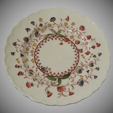 Desert Bloom Bread & Butter Plate Vernon Kilns