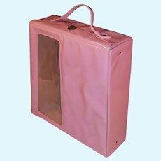 Pink Vintage Vinyl Doll Case