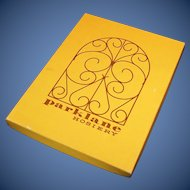 Vintage Mid-Century Parklane Seamless Nylon Hosiery in Box