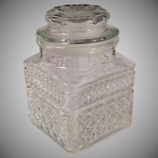 """Crystal Clear Wexford 5 1/4""""  Canister"""