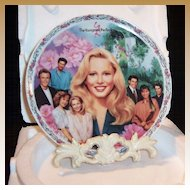 The Young & The Restless: CRICKET'S TRIALS  Collector's Plate