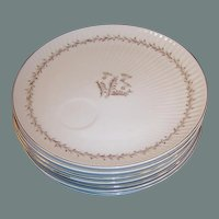 Set of 8: Yamaka China Japan Luncheon Plates
