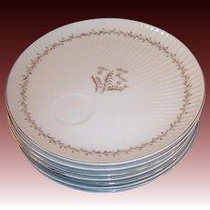 Set of 8: Yamaka China Japan Luncheon Plates