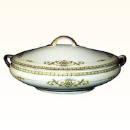 Noritake Savona Covered Vegetable Bowl Japan 1920s