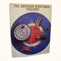 American Sportsman Treasury Book Hunting Fishing Color Photos First Edition 1971