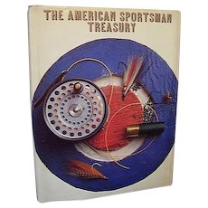 American Sportsman Treasury  Book Hunting Fishing Great Color Photos First Edition 1971
