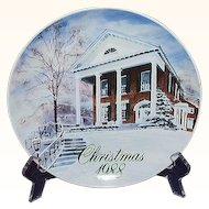 Smucker's Christmas Plate 1988 David Coolidge Artwork