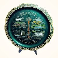 Seattle Washington Souvenir Tray Kingdome Stadium, Japan
