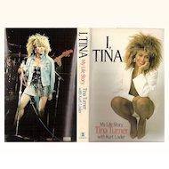 """1986 Tina Turner Autobiography ~ """"I, Tina - My Life Story"""" by Tina Turner with Kurt Loder"""