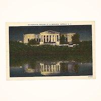 Vintage Linen Postcard ~ Historical Building Buffalo, NY