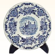 Enoch Wedgwood Turnstall England Royal Homes of Britain Saucers