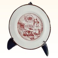 "New Mexico Miniature Souvenir Plate ""The Land of Enchantment"""