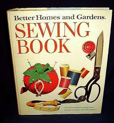 Better homes gardens sewing book 1972 romancing the past Better homes gardens tv show recipes