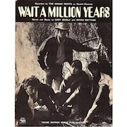 """1969 The Grass Roots """"Wait a Million Years"""" Sheet Music"""