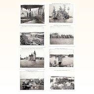 Souvenir Photo Folder, 1920-30s Thousand Islands, NY,  Wm, Jubb B&W Photos