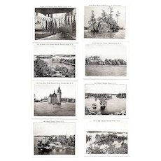 Thousand Islands New York Souvenir Photo Folder 1920-30s