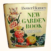1975 Better Homes and Gardens New Garden Book BHG