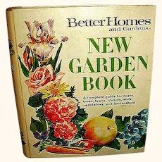 1975 Better Homes and Gardens New Garden Book BHG