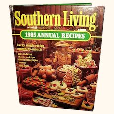 Southern Living Cookbook 1985 Annual Recipes