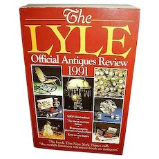 Lyle Official Antiques Price Guide 1991, FREE Shipping in US
