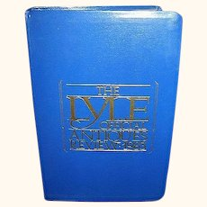 Lyle Official Antiques Review 1983, FREE Shipping in US