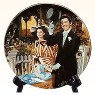 Gone With The Wind Strolling in Atlanta Golden Anniversary Collector Plate Sixth Issue WS George 1989