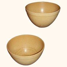 ELLINGERS Agatized Wood Retro Mid Century Modern Bowls