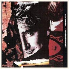 1991 Rod Stewart VAGABOND HEART Album Music Book