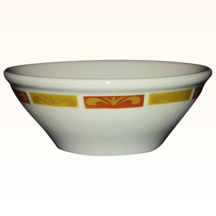 Mayer Restaurant Ware Soup Cereal Bowl 1972 : Romancing