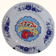 Atlantic City NJ Souvenir Plate Made in Japan