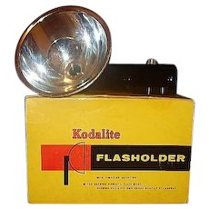 Kodalite Flasholder 710 for Brownie Hawkeye Bulls-Eye and Duaflex 3 Cameras in Original Box Lumaclad Reflector
