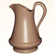Royal Haeger Pottery Mauve Satin Pitcher RG166 USA