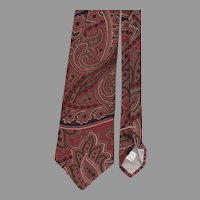 Pierre Cardin Paisley Necktie 59 Inches Long
