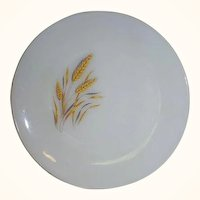 Fire King Wheat Dinner Plate 1962 - 1966