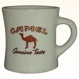 Camel Cigarettes Advertising Mug Restaurant Ware Genuine Taste