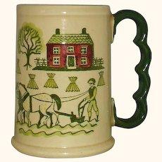Metlox Poppytrail Vernon Homestead Provincial Grand Mug