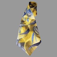 Jerry Garcia Silk Necktie Duckworm Alarm Collection 14 Extra Long 63 inches
