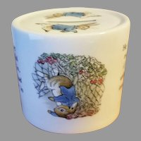 Peter Rabbit Porcelain Coin Bank by Wedgwood Made in England
