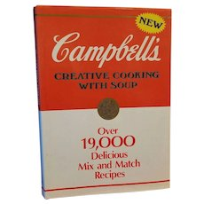 Campbells Creative Cooking with Soup 1985 Hardback Over 19,000 Recipes