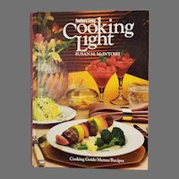 Southern Living Cooking Light Susan McIntosh Hardcover 1983