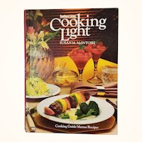 Southern Living Cooking Light Susan McIntosh Hardcover 1983