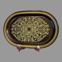 Noritake Primastone 14-inch Oval Platter Campobello 8305 Made in Japan