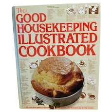 The Good Housekeeping Illustrated Cookbook 1980 Hardcover.