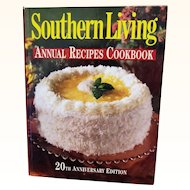 Southern Living Annual Recipes 20th Anniversary Edition Over 1,500 Recipes Hardcover 1998