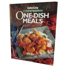 Southern Living Our Best One Dish Meals Hardcover 1995